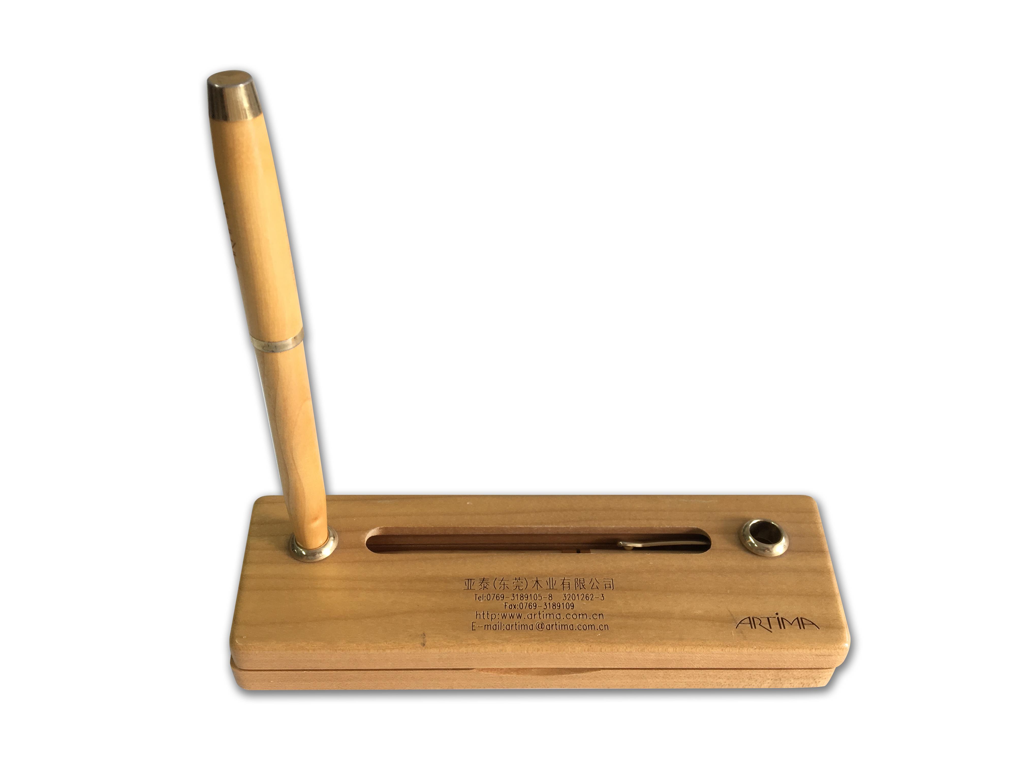 木质笔架/圆珠笔
